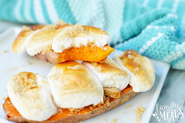 Sweet Potato Casserole Toast recipe - Family Fresh Meals