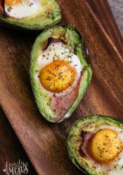 Avocado Egg Bake Recipe - Family Fresh Meals
