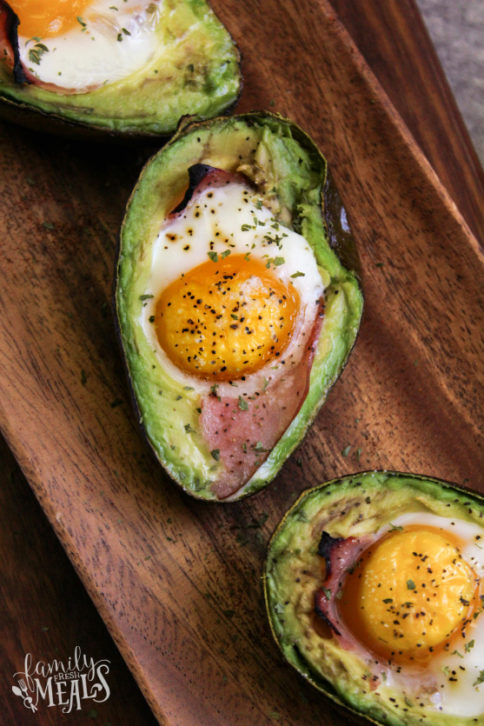 Avocado Egg Bake Recipe - Family Fresh Meals