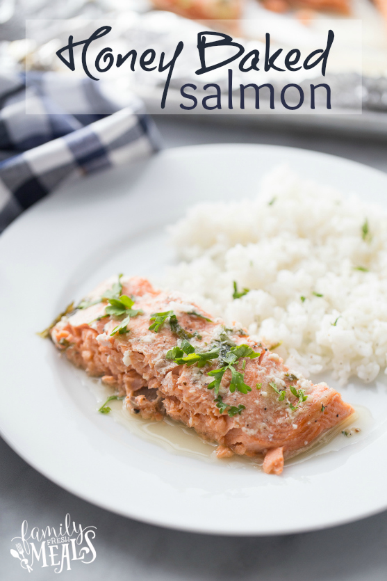 Honey Baked Salmon Recipe - Family Fresh Meals Recipe