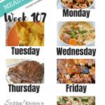 Easy Weekly Meal Plan Week 107