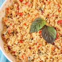 Thai Basil Cauliflower Rice