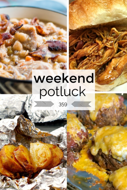 Weekend Potluck Recipes featured on Family Fresh Meals