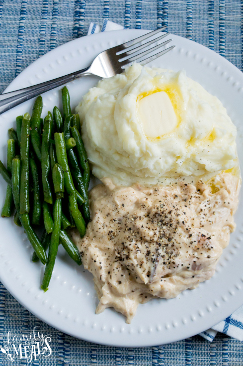Crockpot Chicken and Gravy Recipe - Crockpot chicken dinner recipe