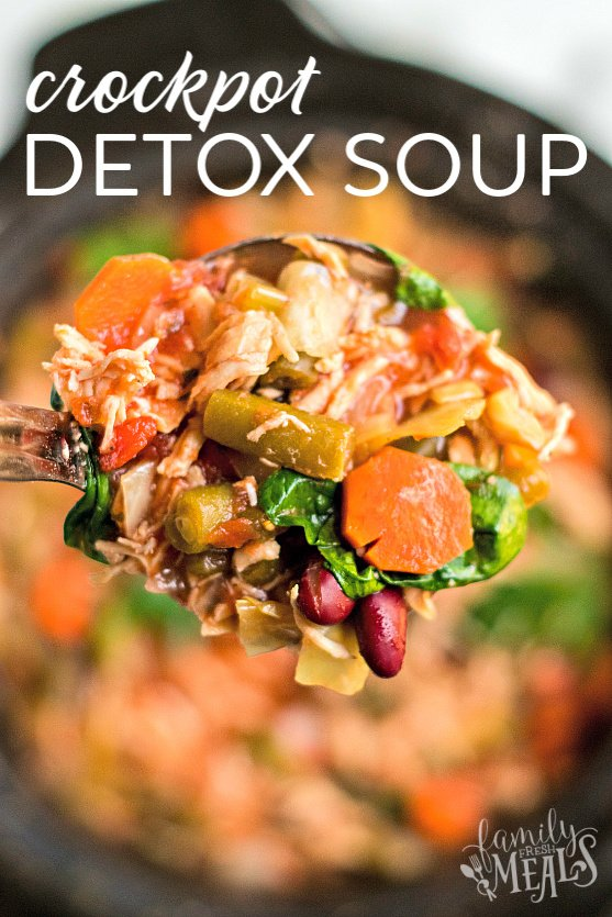 Crockpot Detox Soup Recipe - Healthy Family Fresh Meals Recipe