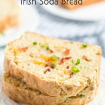 Bacon Cheddar Irish Soda Bread