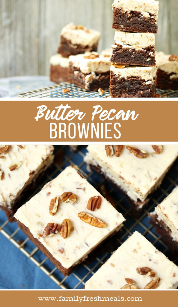 Butter Pecan Brownies Recipe - Family Fresh Meals recipe