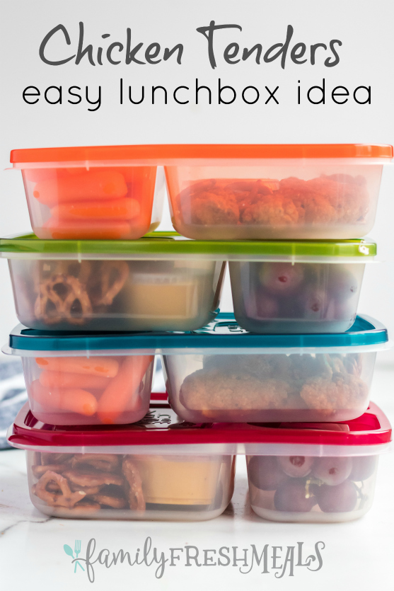 Chicken Tenders Lunchbox Idea - Family Fresh Meals Easy Lunch Idea