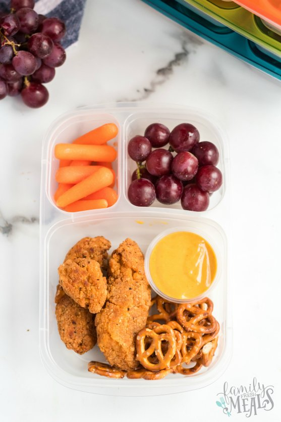 Chicken Tenders Lunchbox Idea - Family Fresh Meals Easy Lunchbox Idea