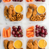 Chicken Tenders Easy Lunchbox Idea