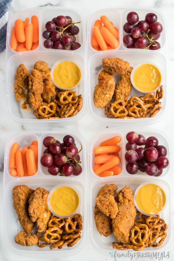 Chicken Tenders Easy Lunchbox Idea Family Fresh Meals