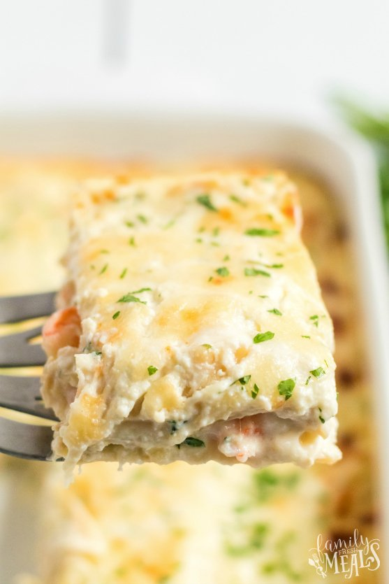 Easy Seafood Lasagna recipe the family will love - Family Fresh Meals