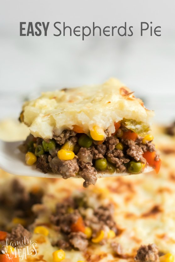 Easy Shepherds Pie Recipe - Family Fresh Meals recipe
