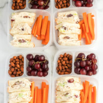 Healthy Chicken Salad Lunchbox