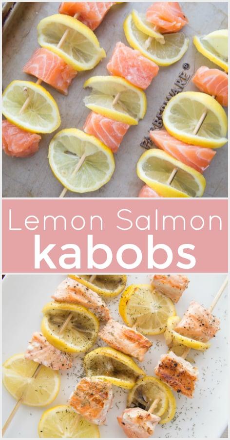 Lemon Salmon Kabobs - Family Fresh Meals Recipe