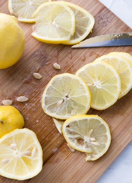 Lemon Salmon Kabobs - Grilled Lemon salmon