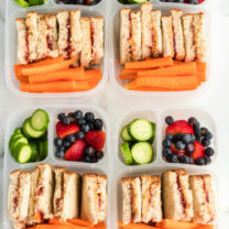 Peanut Butter Jelly Protein Boxes