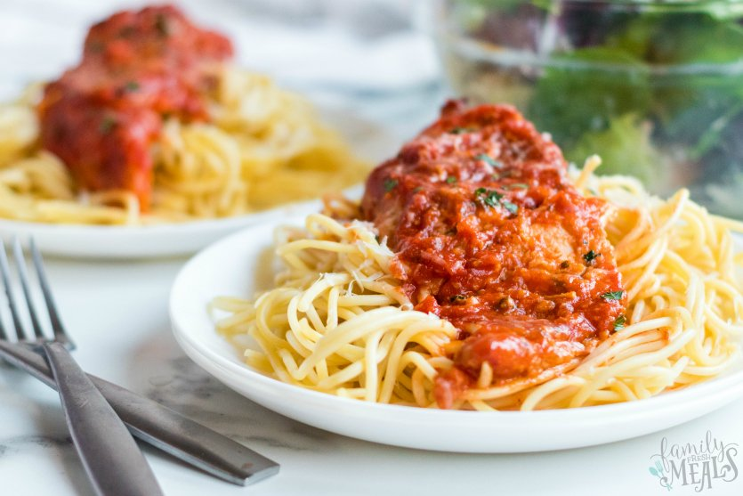 Slow Cooker Chicken Parmesan - Family Fresh Meals Recipe