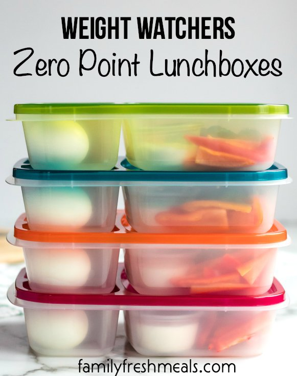 Weight Watchers Zero Point Lunchbox - Family Fresh Meals Lunches