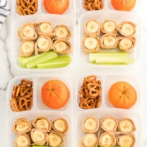 Banana Roll Up Lunch Box Idea