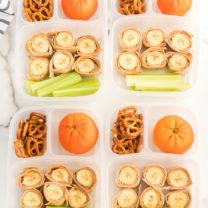 Banana Roll Up Lunch Box Idea