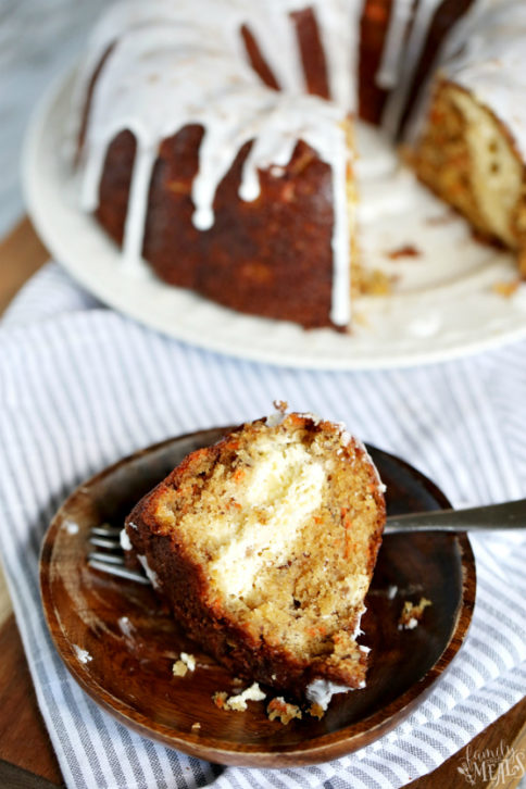 Cream Cheese Carrot Bundt Cake - Family Fresh Meals Recipe