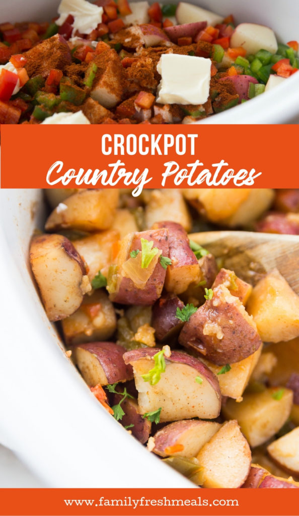 Crockpot Country Potatoes from Family Fresh Meals