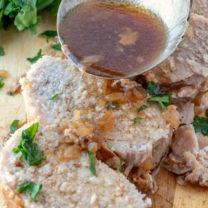 Crockpot Pork Loin