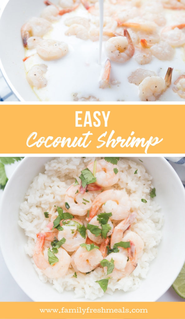 Easy Coconut Shrimp from Family Fresh Meals