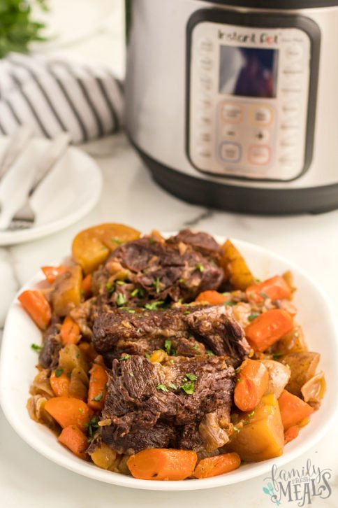 Instant Pot Pot Roast Dinner Recipe - Family Fresh Meals
