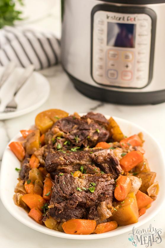 Easy Instant Pot Pot Roast Dinner Family Fresh Meals