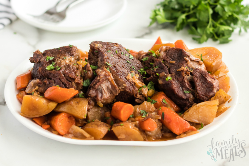 Instant Pot Pot Roast Dinner Recipe - Pot Roast Recipe - Family Fresh Meals