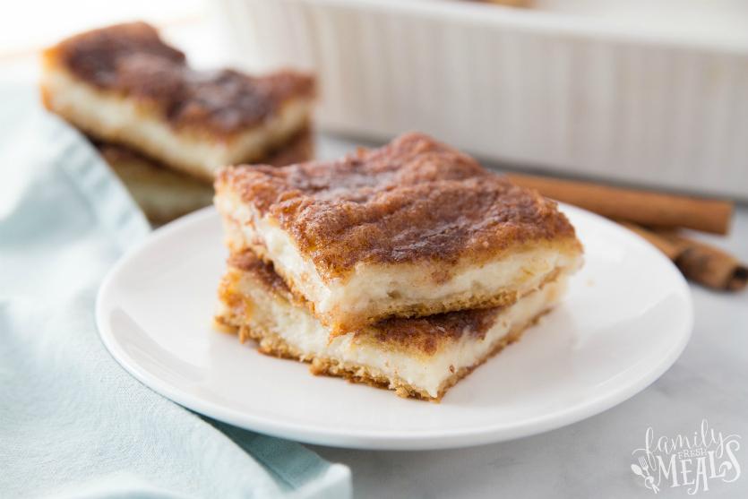 Churro Cheesecake Bars - Family Fresh Meals Recipe