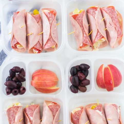 Keto Low Carb Sandwich Lunchbox