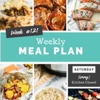 Easy Weekly Meal Plan Week 121