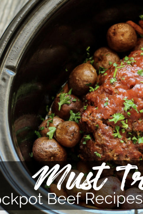 Must Try Crockpot Beef Recipes eBook - cover
