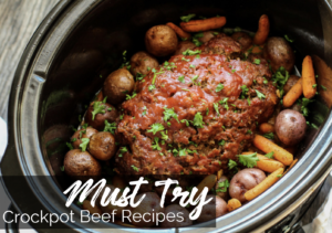 Must Try Crockpot Beef Recipes ebook - Family Fresh Meals