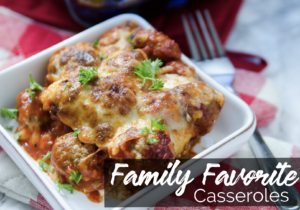 Family Favorite Casseroles ebook - Family Fresh Meals