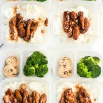 Teriyaki Chicken Lunchbox Idea