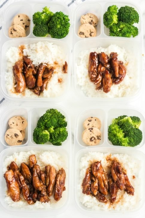 Teriyaki Chicken Lunchbox Idea - Family Fresh Meals