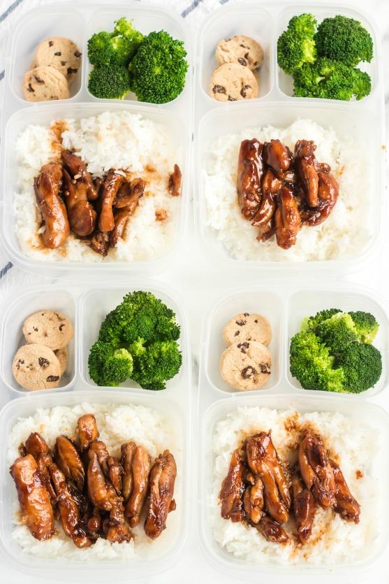 Teriyaki Chicken Lunchbox Idea - Family Fresh Meals