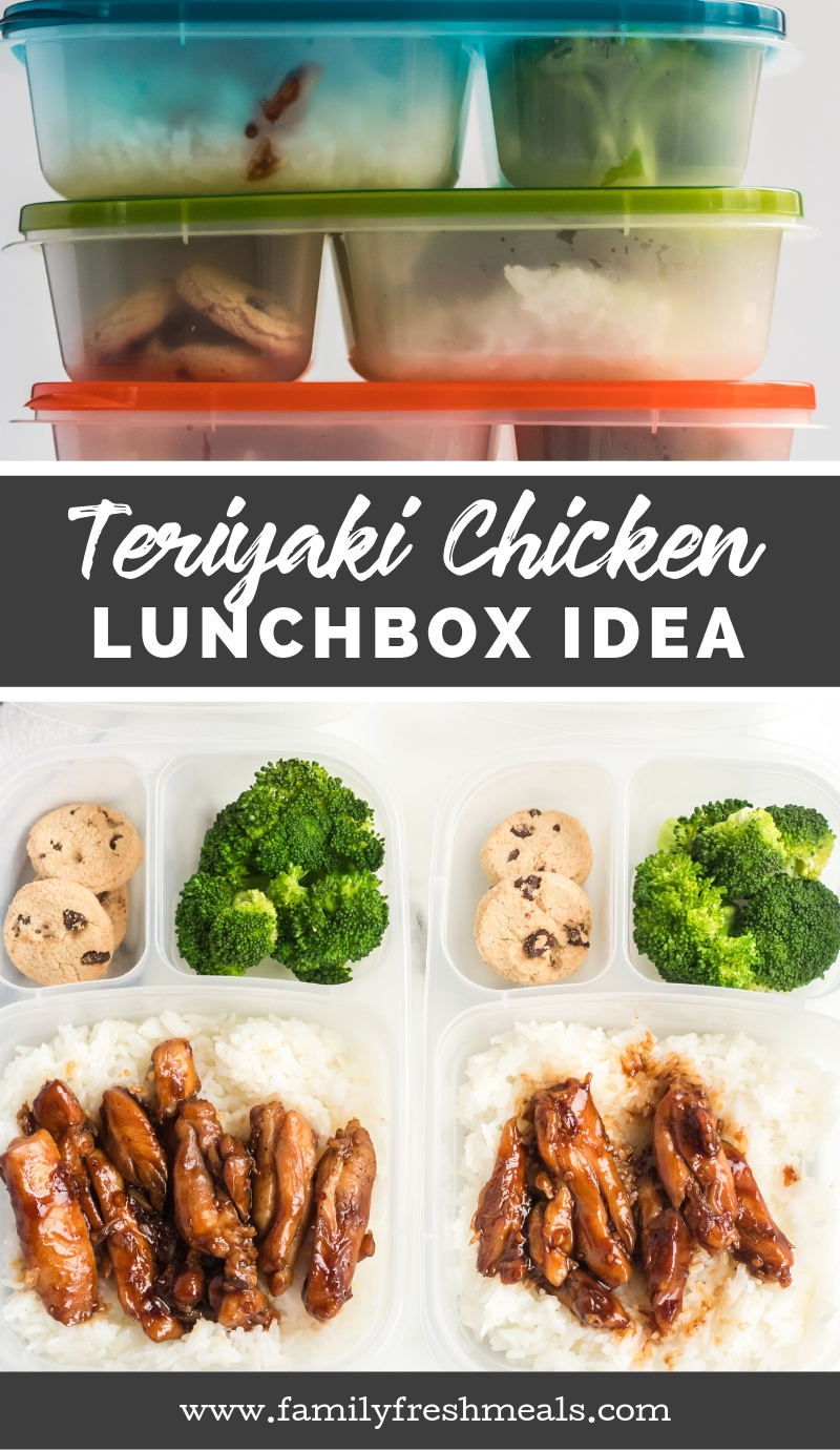 Teriyaki Chicken Lunchbox Idea - From Family Fresh Meals