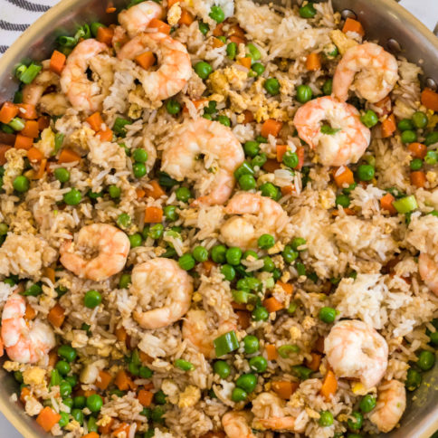 Easy Shrimp Fried Rice Recipe - Family Fresh Meals