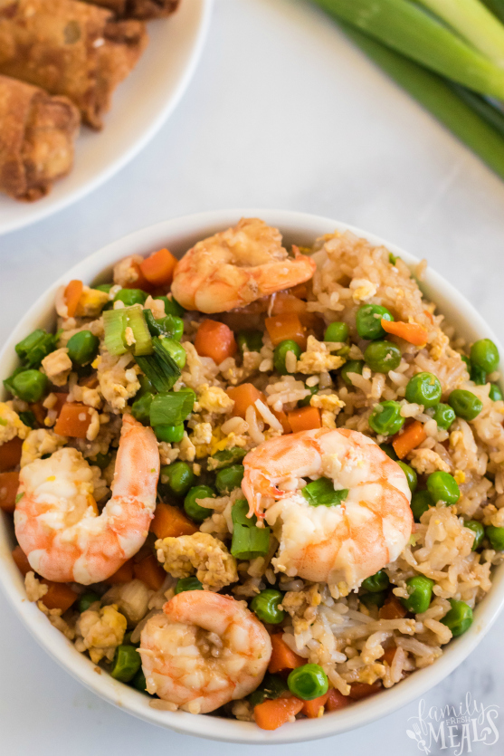 Easy Shrimp Fried Rice Recipe -- Family Fresh Meals recipe