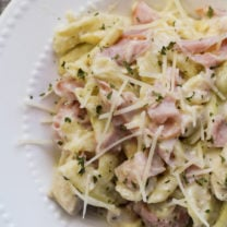 Instant Pot Chicken Cordon Bleu Pasta