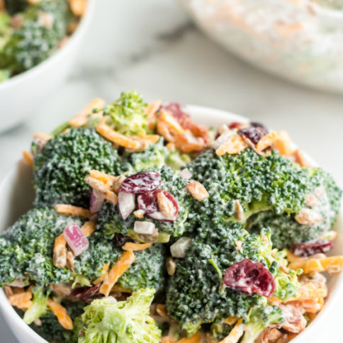 Creamy Broccoli Salad recipe - Family Fresh Meals