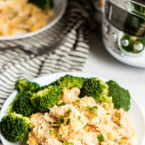Crockpot Creamy Chicken and Rice