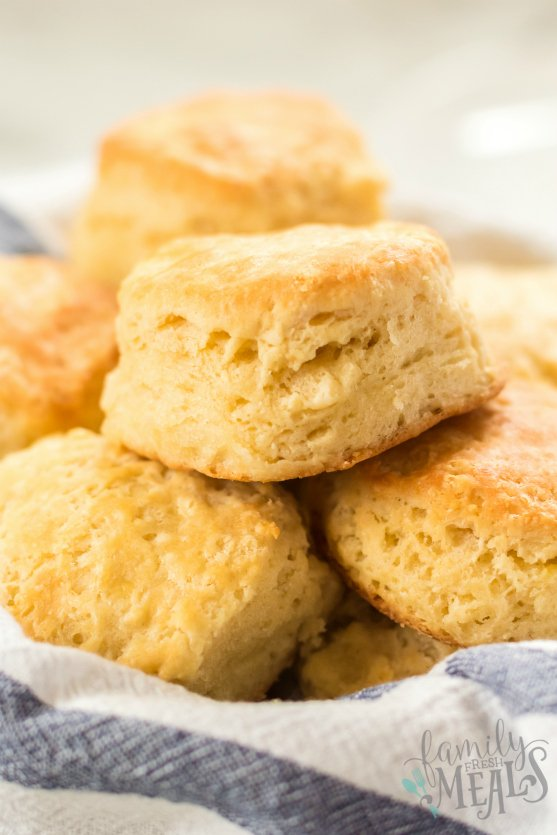 Easy Homemade Biscuits Recipe - Family Fresh Meals
