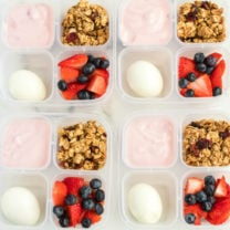 Yogurt Parfait Snack Box