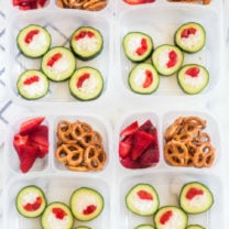Cucumber Sushi Lunch Box Idea
